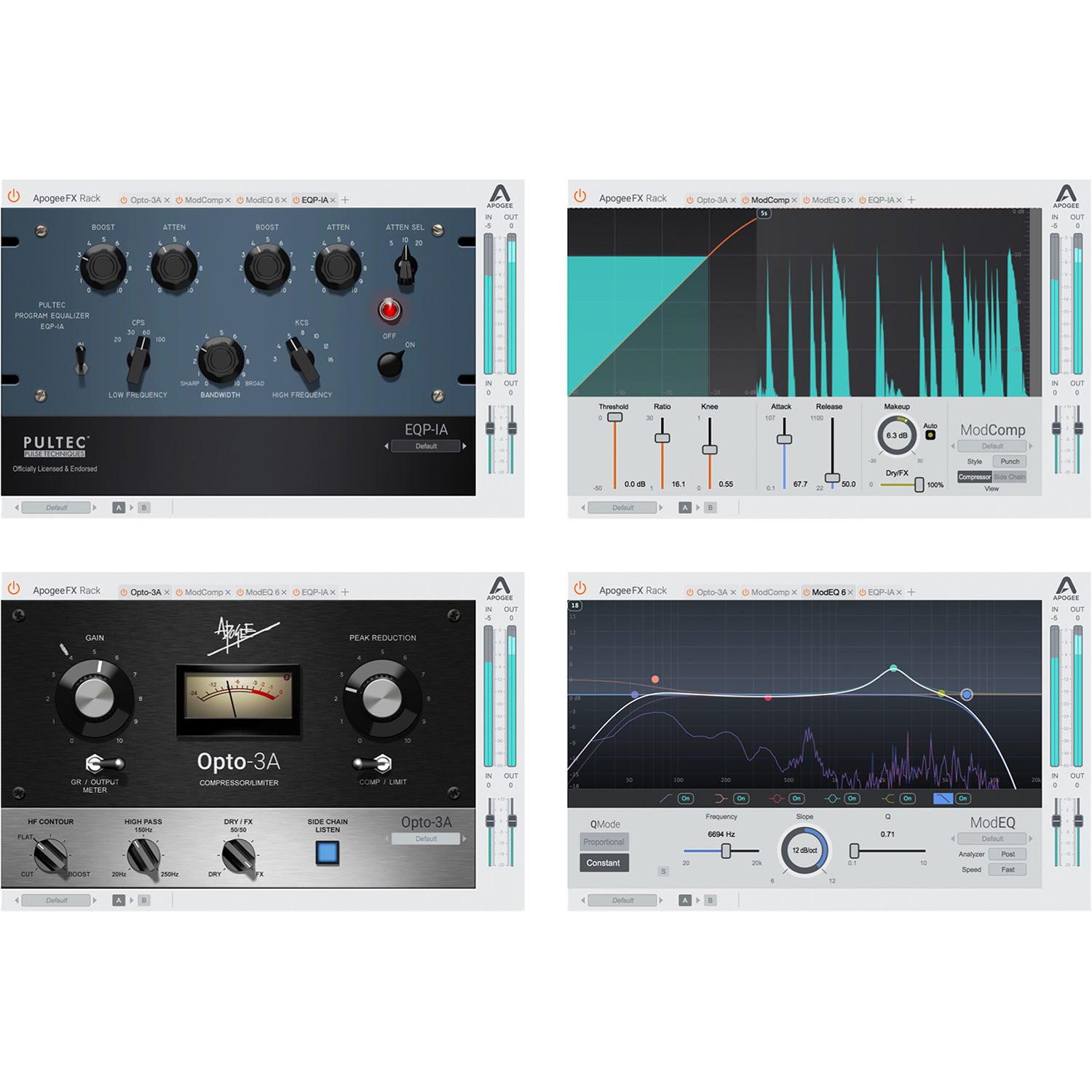 Apogee Electronics FX Rack Bundle - Dynamics and Equalizer Plug-Ins  (Version 1, Download)