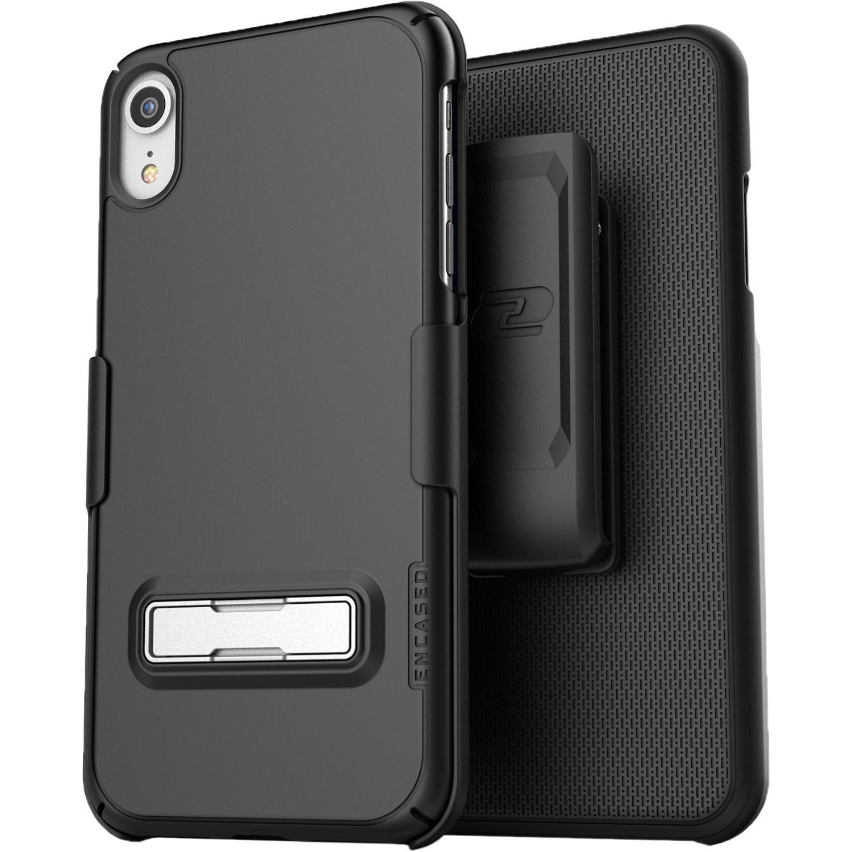 huge selection of 632bd bb30d Encased Slimline Case with Belt Clip Holster for iPhone XR