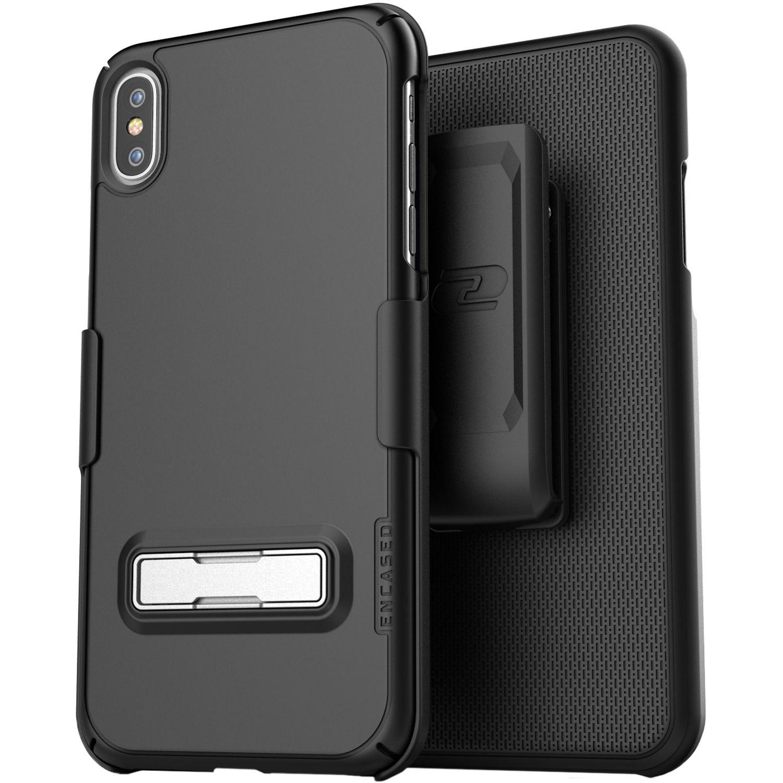 best website a6f31 79105 Encased Slimline Case with Belt Clip Holster for iPhone XS Max