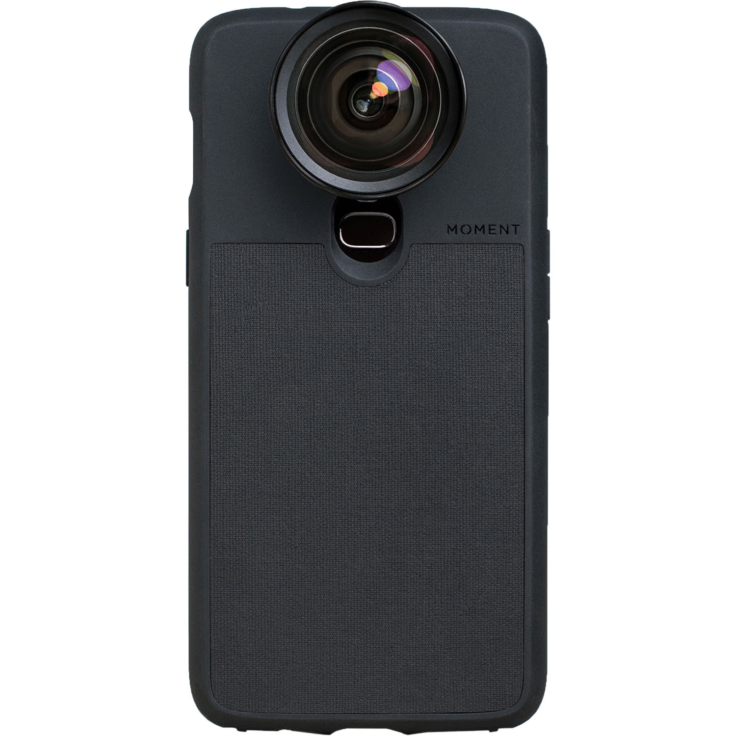 the latest 4c5e4 616d1 Moment Photo Case for the OnePlus 6 (Black Canvas)