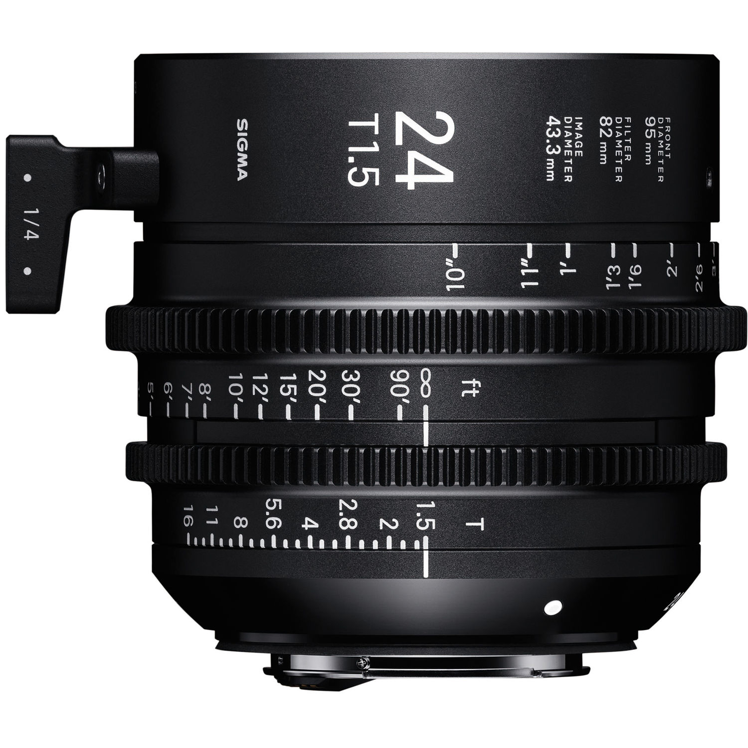 Sigma 28mm T1 5 FF High-Speed Prime (EF Mount)