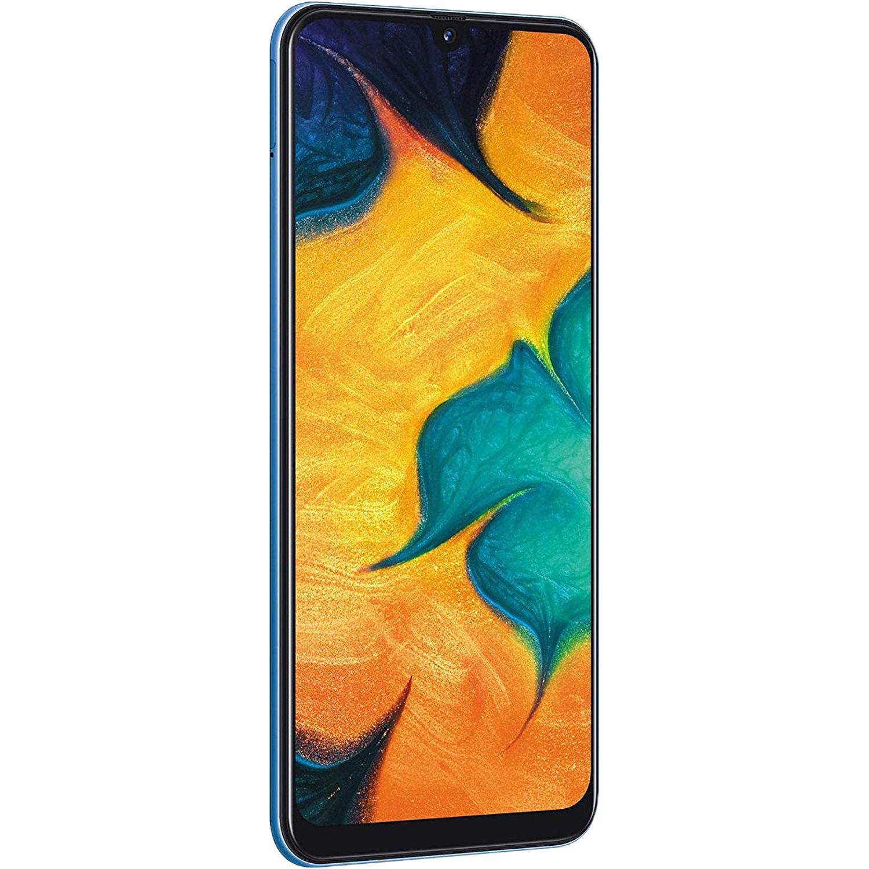 Samsung Galaxy A30 SM-A305G Dual-SIM 64GB Smartphone (Unlocked, Black)