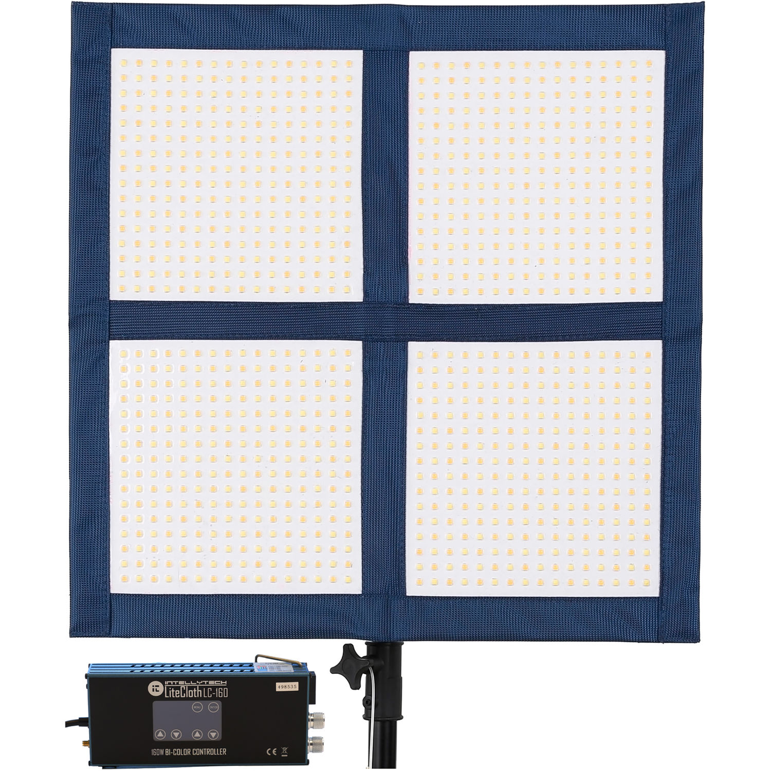 Intellytech Litecloth Lc 160 2 X 2 Foldable Led Mat Kit V Mount