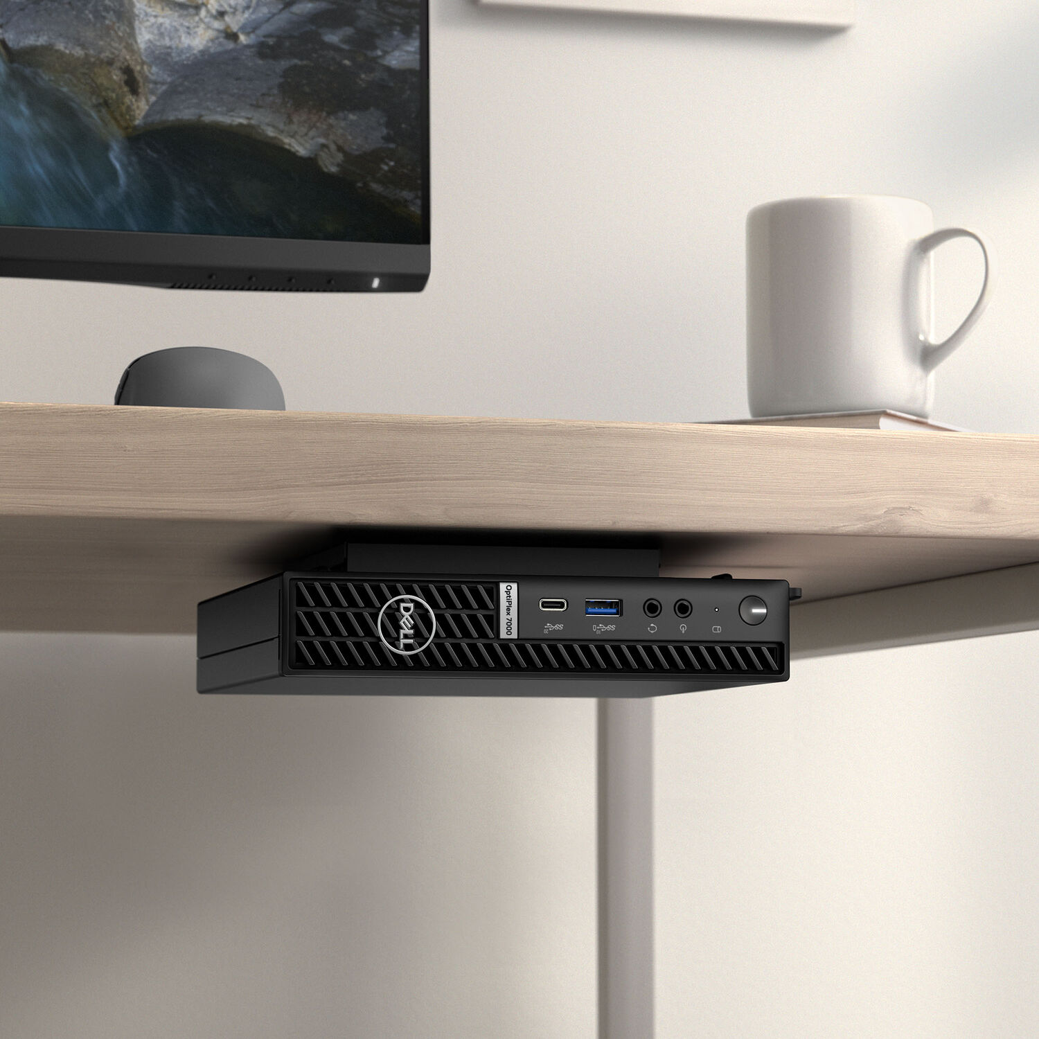 Dell OptiPlex Micro VESA Mount with Adapter Box