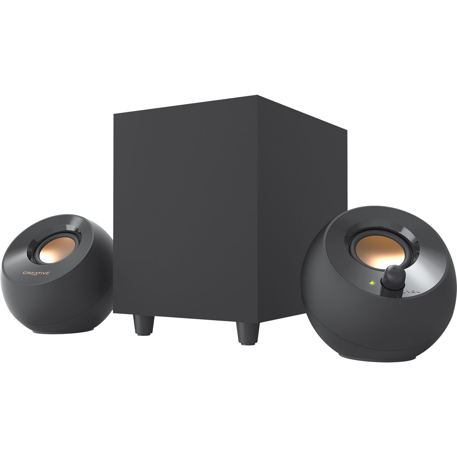 Creative Labs Pebble Plus 2 1-Channel Desktop Speakers with Subwoofer