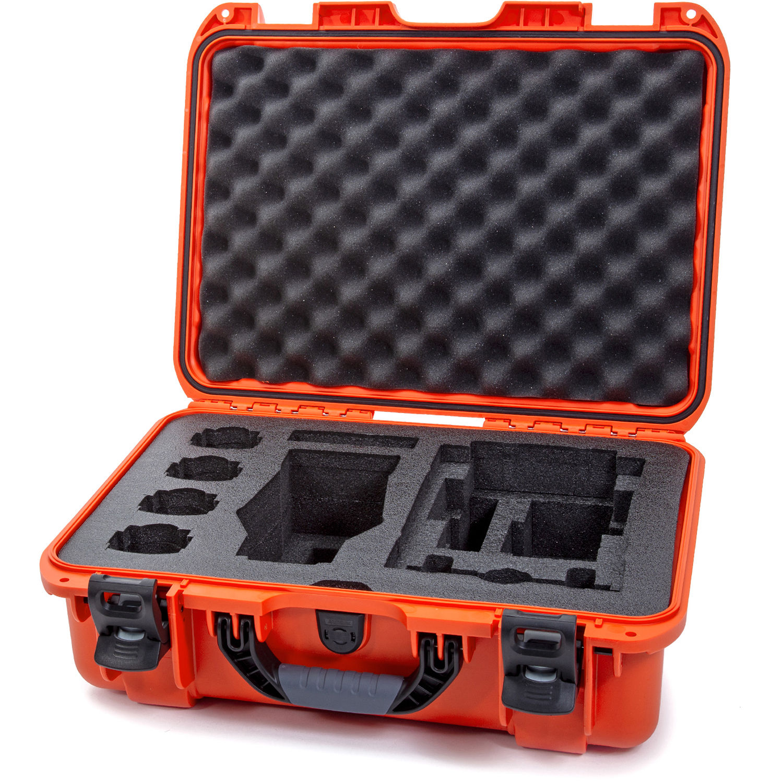 Nanuk 925 Waterproof Hard Case for DJI Mavic 2 Pro/Zoom + Smart Controller  (Orange)