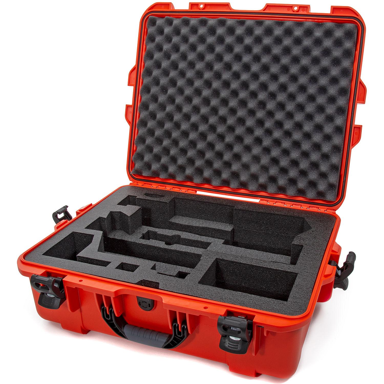 Nanuk 945 Waterproof Hard Case with Foam Insert for Zhiyun Crane 3 Lab Orange