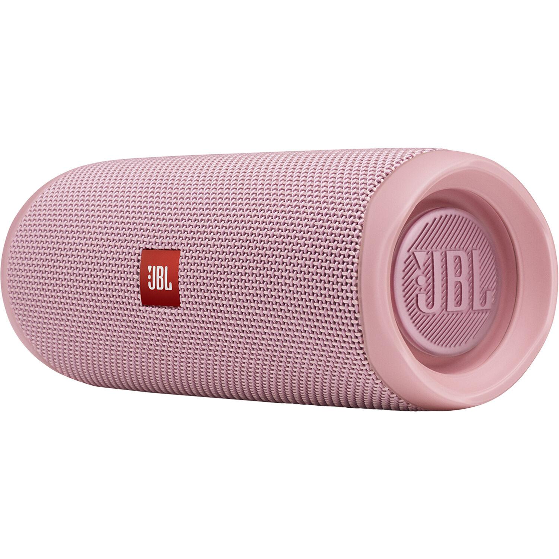 JBL Flip 5 Waterproof Bluetooth Speaker (Dusty Pink)