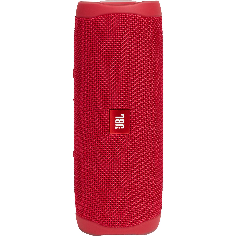 JBL Flip 5 Waterproof Bluetooth Speaker (Fiesta Red)