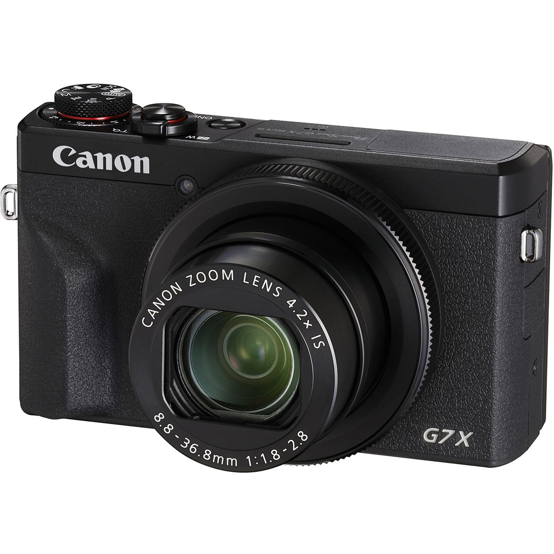 G7 Mark Digital Camerablack Powershot Iii X Canon Tl1J3FKc