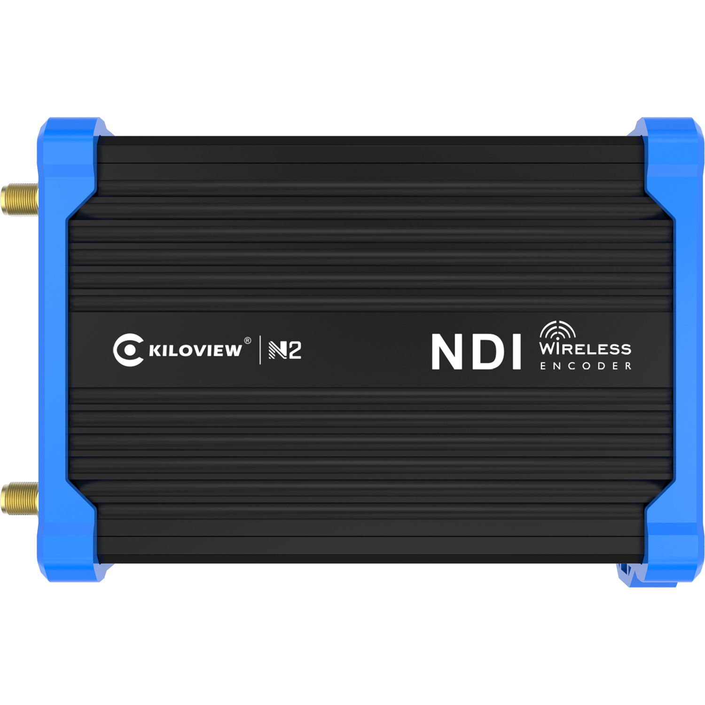 Kiloview Battery Powered, Camera Mounted, Wireless, HDMI To NDI HX Encoder