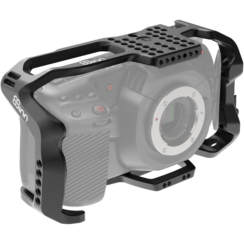 8Sinn BMPCC 4K Half Cage Blackmagic Pocket Cinema Camera 4K Alu black