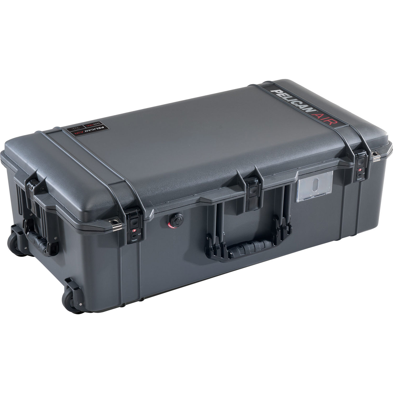 Black /& Orange Pelican 1510 case with dividers Grey /& mesh lid organizer.
