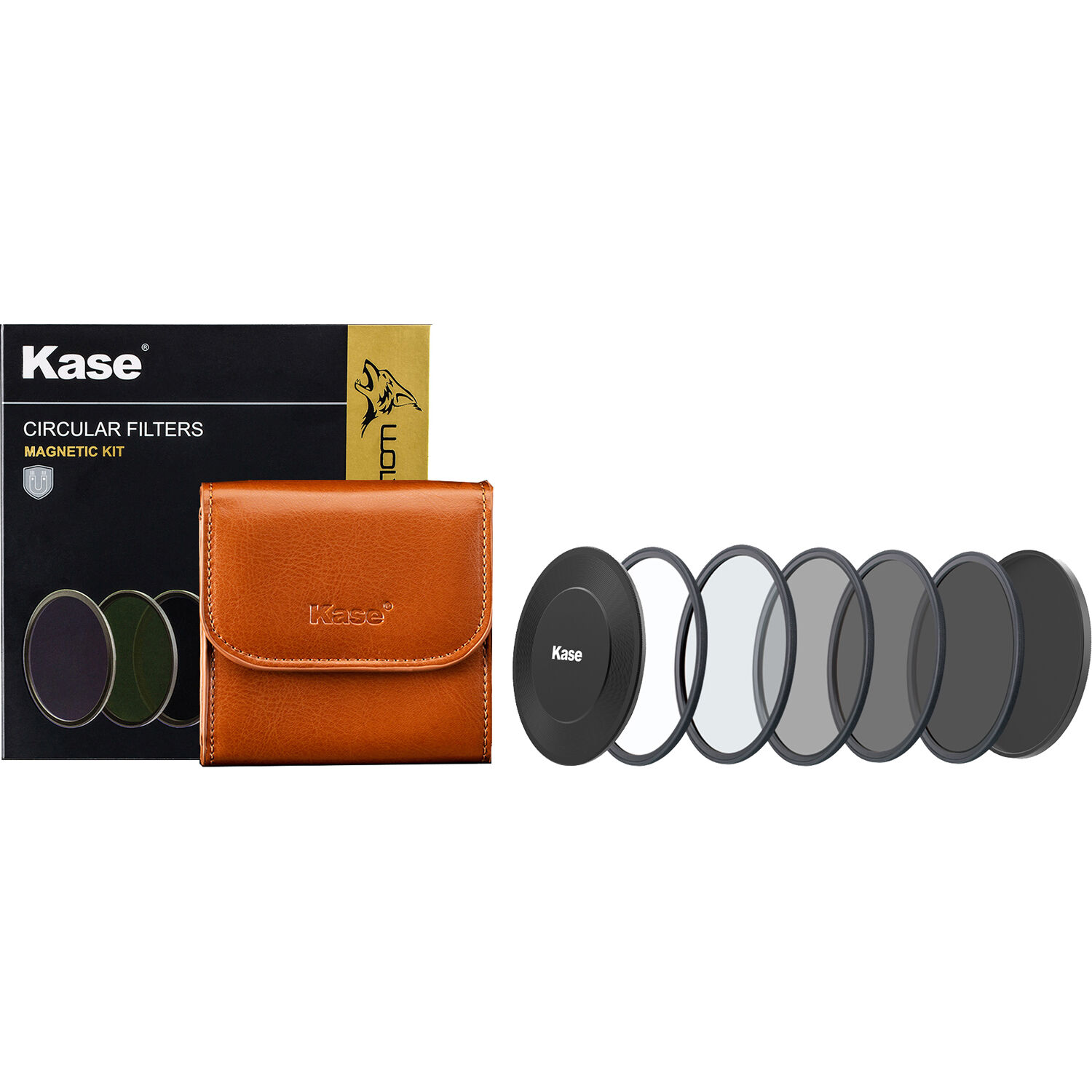 Kase Wolverine 77mm to 95mm Magnetic Step Up Filter Ring Adapter 77 95
