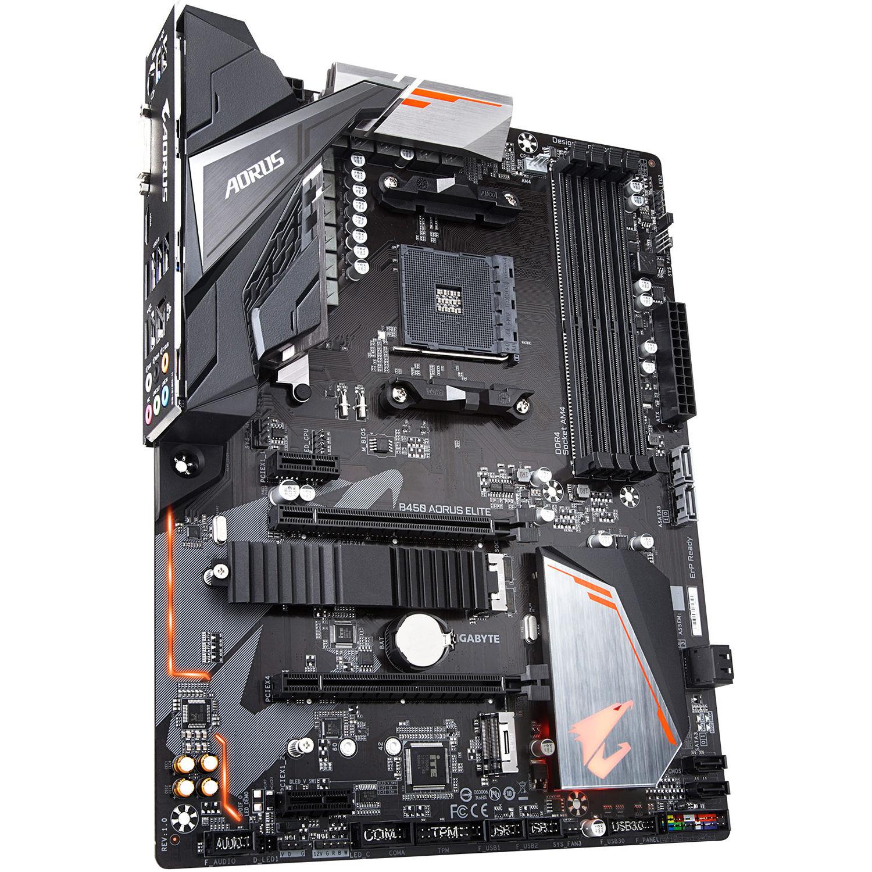 Gigabyte B450 Aorus Elite Am4 Atx Motherboard B450 Aorus Elite
