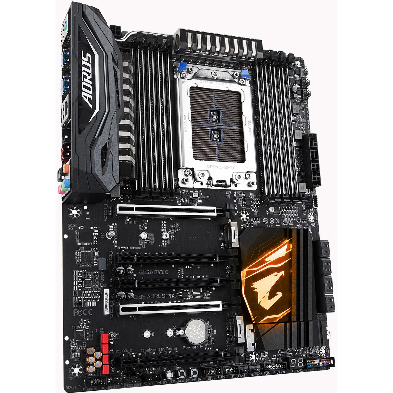 Gigabyte X399 Aorus Pro Tr4 Atx Motherboard X399 Aorus Pro B H