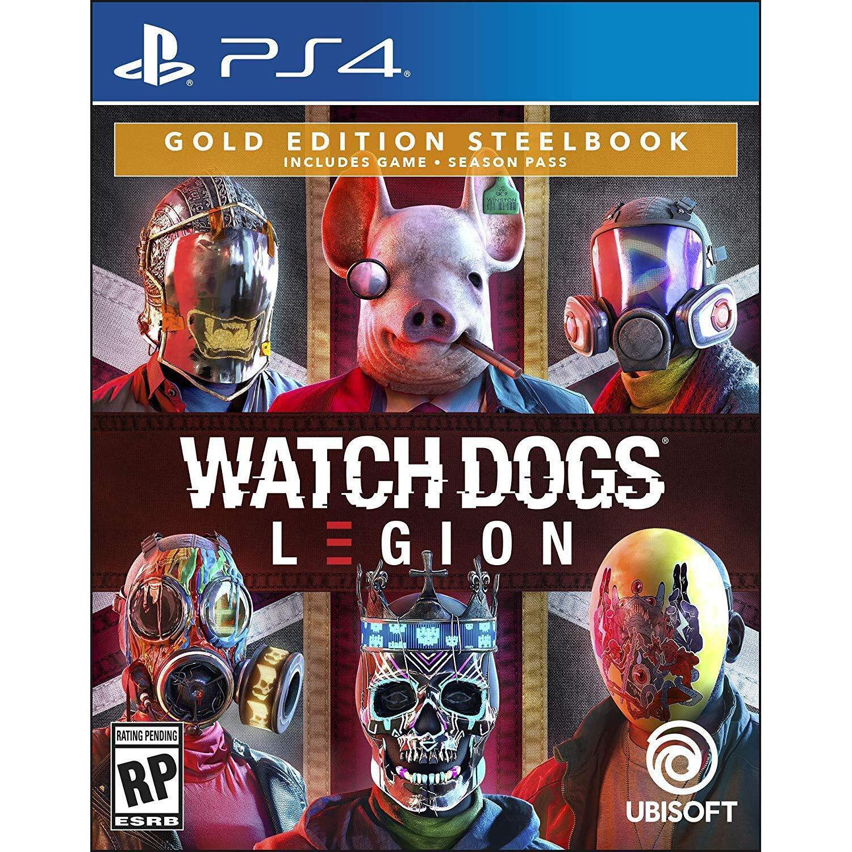 Ubisoft Watch Dogs Legion Gold Steelbook Editi Ubp50422230 B H