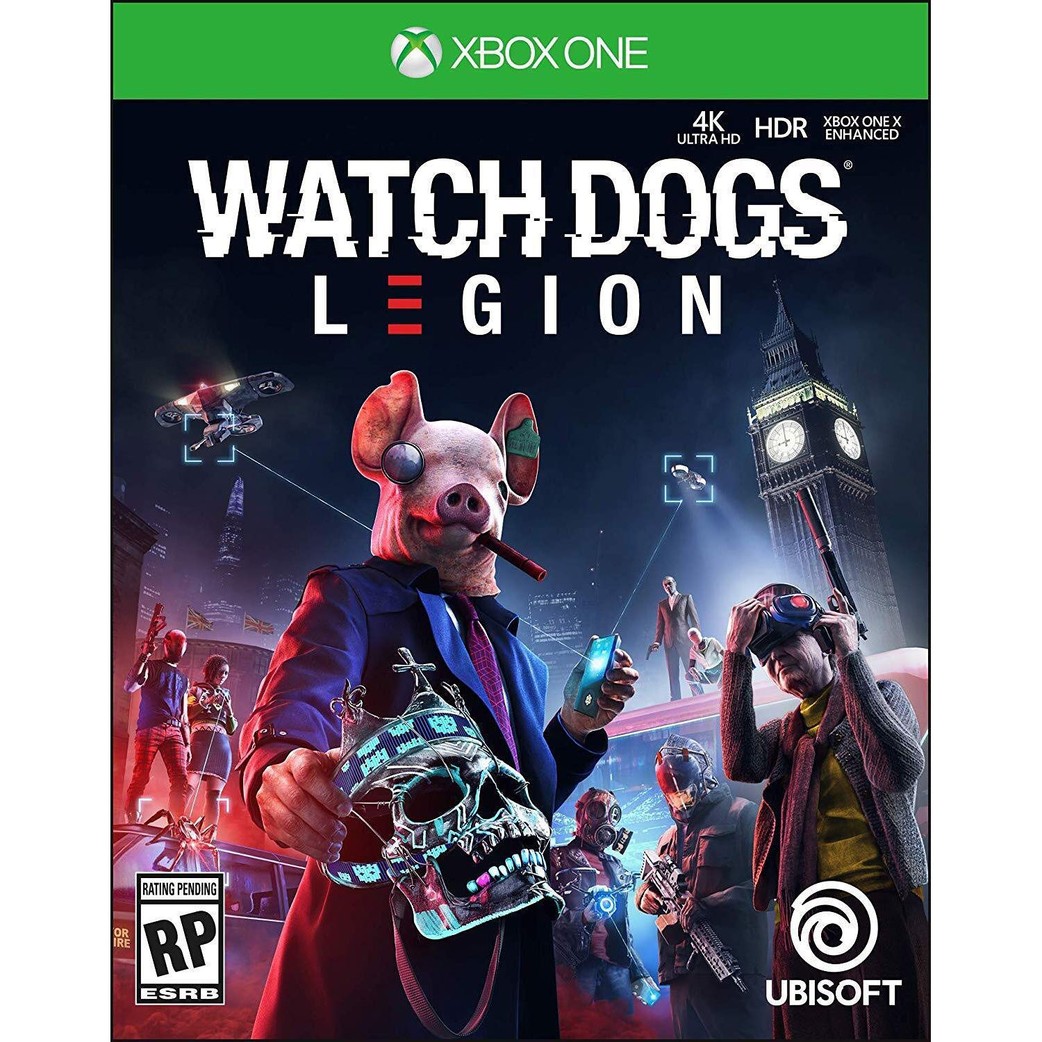 Ubisoft Watch Dogs Legion Gold Steelbook Editi Ubp50422230 B H
