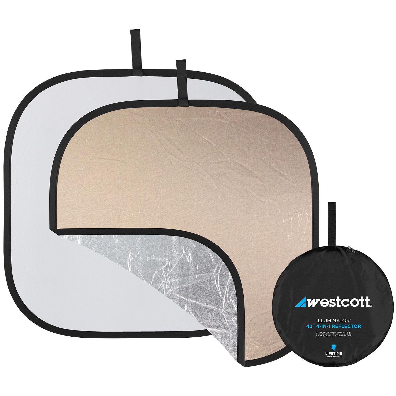 Sunlight//White Westcott Illuminator 20 Square Reflector