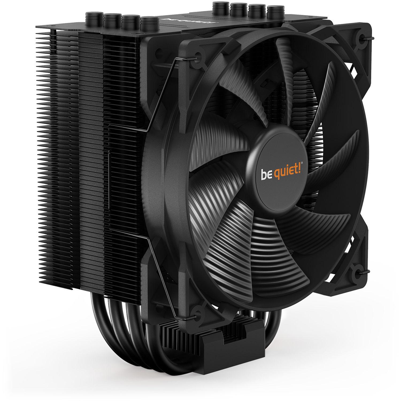 be quiet! Pure Rock 2 Black, CPU cooler, 150W TDP, incl. Pure Wings 2 120mm PWM fan