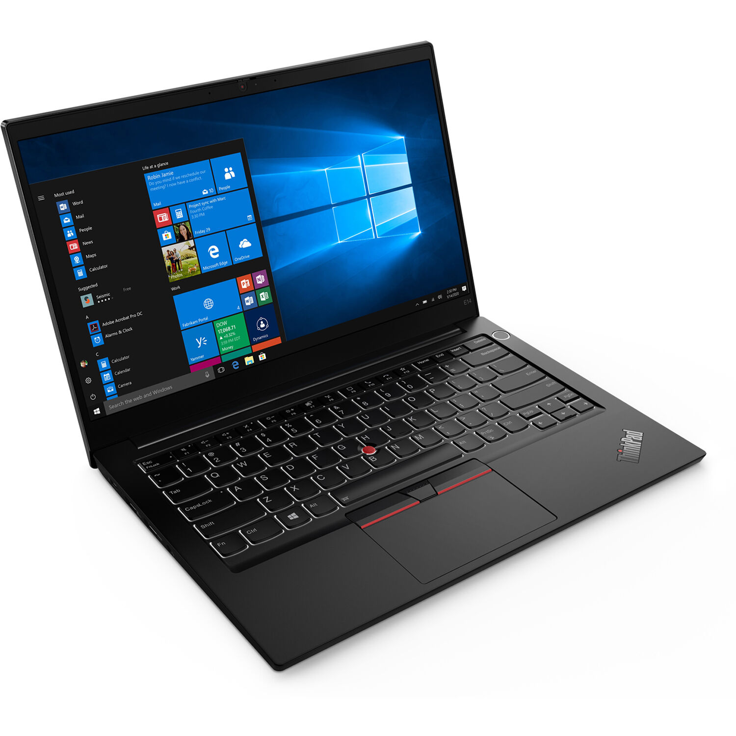 "Lenovo 14"" ThinkPad E14 Gen 2 Laptop (AMD) 20T6001UUS"