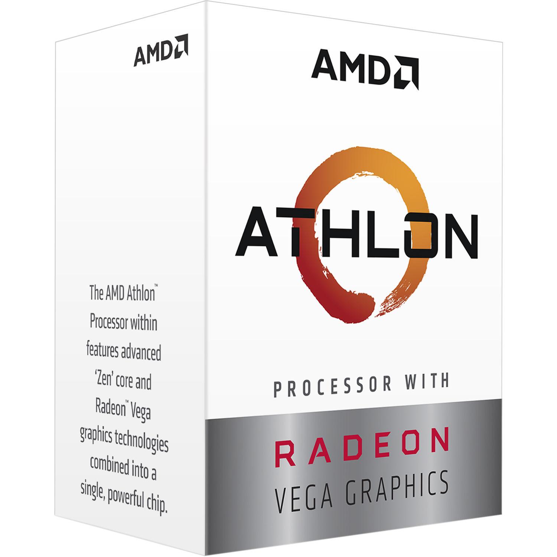 Amd Athlon 3000g 3 5 Ghz Dual Core Am4 Processor Yd3000c6fhbox