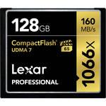 Lexar 128GB Professional 1066x Compact Flash Memory Card (UDMA 7)