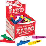 Hohner 50 Piece Box Of Kazoos (Assorted Colors)