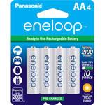 Panasonic Eneloop AA Rechargeable Ni-MH Batteries (2000mAh, Pack of 4)