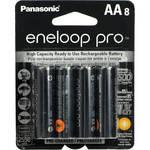 Panasonic eneloop pro AA Rechargeable Ni-MH Batteries (2550 mAh, Pack of 8)