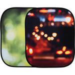 Lastolite Collapsible Background, Summer Foliage - City Lights (4x5')