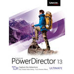 CyberLink PowerDirector 13 Ultimate Software (DVD)