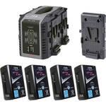 IDX Endura Cue-D150 V-Mount 4 Battery Kit for Blackmagic Design URSA