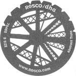 Rosco Standard Steel Gobo #78465B Abstract Jumble (B = Size 86mm)