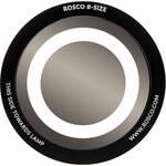 """Rosco Standard Black and White Glass Spectrum Gobo #81115 Circle Outline (86mm = 3.4"""")"""