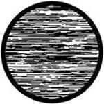 """Rosco Standard Black and White Glass Spectrum Gobo #81135 Open Static (86mm = 3.4"""")"""