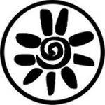"Rosco Standard Black and White Glass Spectrum Gobo #81166 Sol Aztec (86mm = 3.4"")"