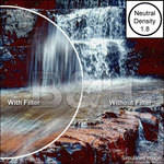B+W 77mm #106 Neutral Density (ND) 1.8 Filter