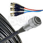 Comprehensive 26-Pin Male to 3 BNC Male Component Video Cable - 25'
