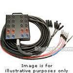 Whirlwind Medusa Power Series 16 Channel Snake Cable - 100'