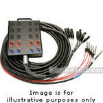 Whirlwind Medusa Power Series 16 Channel Snake Cable - 150'