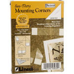 """Lineco Archival Mounting Corners - 7/8"""" - Box of 100"""