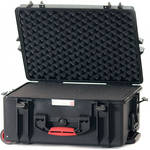 HPRC 2600WF HPRC Hard Case with Foam (Black with Red Handle)