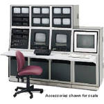 Winsted K8602 Four-Bay Slope Dual-Level Security Console (System/85 Series)