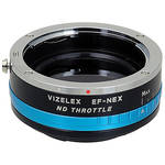 FotodioX Canon EF/EF-S Lens to Sony E-Mount Camera Vizelex ND Throttle Adapter