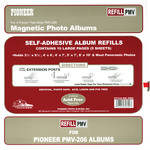 Pioneer Photo Albums Refill Pages for the PMV-206 Photo Album (Pack of 5)