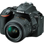 Nikon D5500 DX-format 24MP FHD DSLR Camera w/18-55mm Lens
