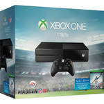 Xbox One Madden NFL 16 1TB Bundle + 3 Games
