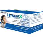 """HamiltonBuhl HygenX 4.5"""" Disposable Sanitary Ear Cushion Covers for Over-Ear Headphones and Headsets (Blue, 50 Pairs)"""