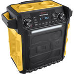 ION Audio Pathfinder Water-Resistant Rechargeable Speaker System (Yellow)